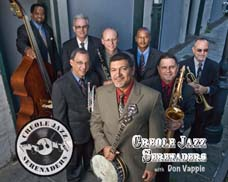 Creole Jazz Serenaders with Don Vappie